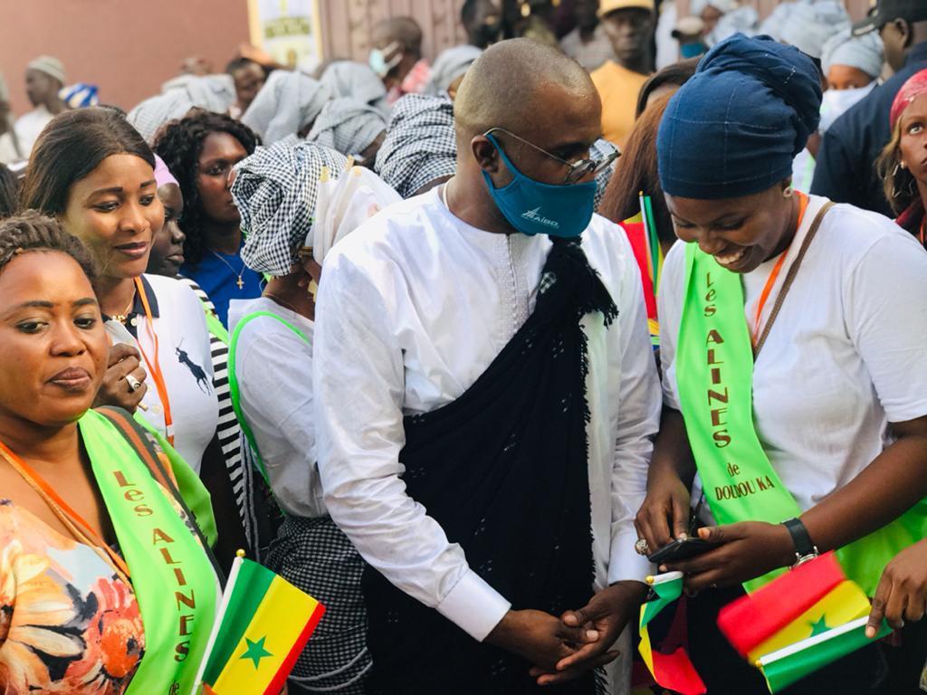 """Ziguinchor : Les """"Alines de Doudou Ka"""" appellent les jeunes à se faire vacciner contre la Covid-19"""