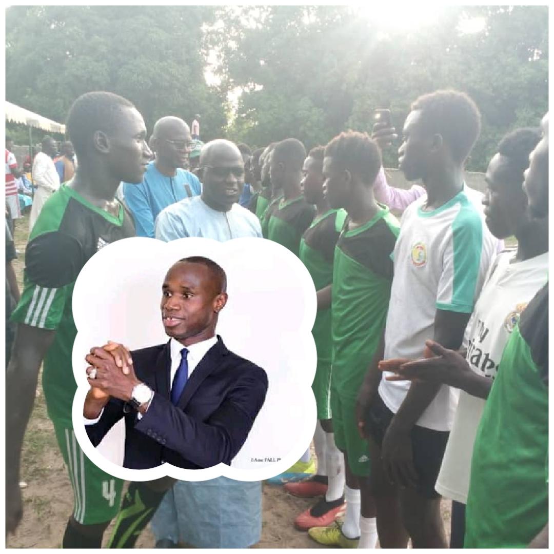 Tournoi de Fraternité : Diagnon déroule le tapis rouge à Me Diockou
