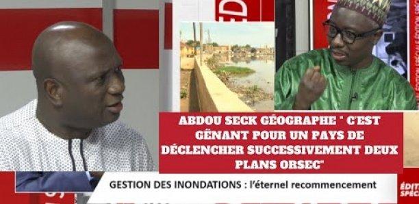 """Abdou Sané, Géographe: """" C'est gênant pour un pays de déclencher successivement deux plans ORSEC"""""""