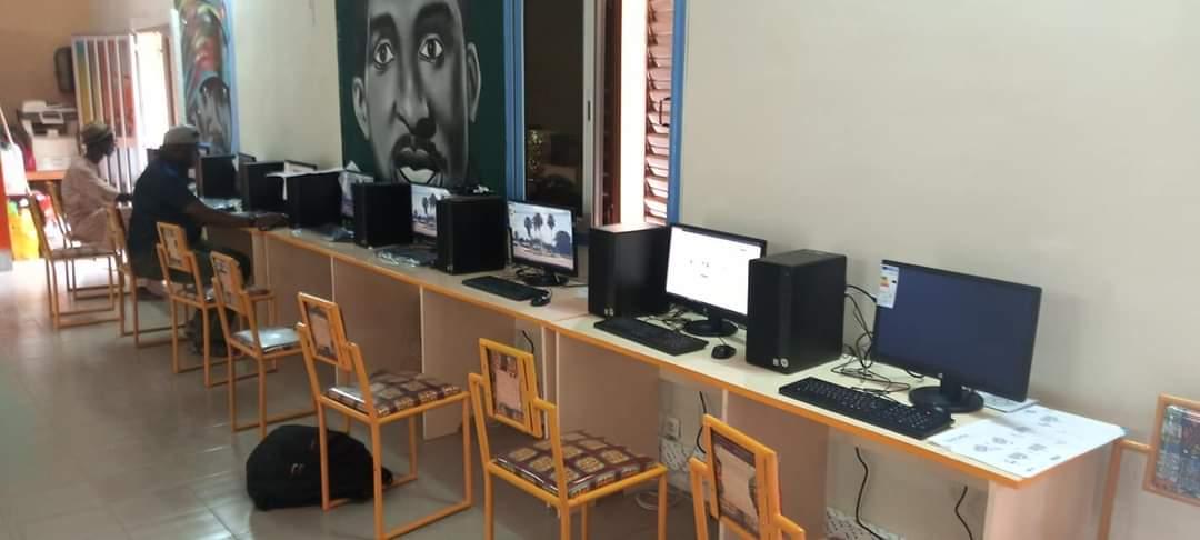 Bignona : Le Conseil départemental inaugure son Centre Multimédia Moustapha Sadio