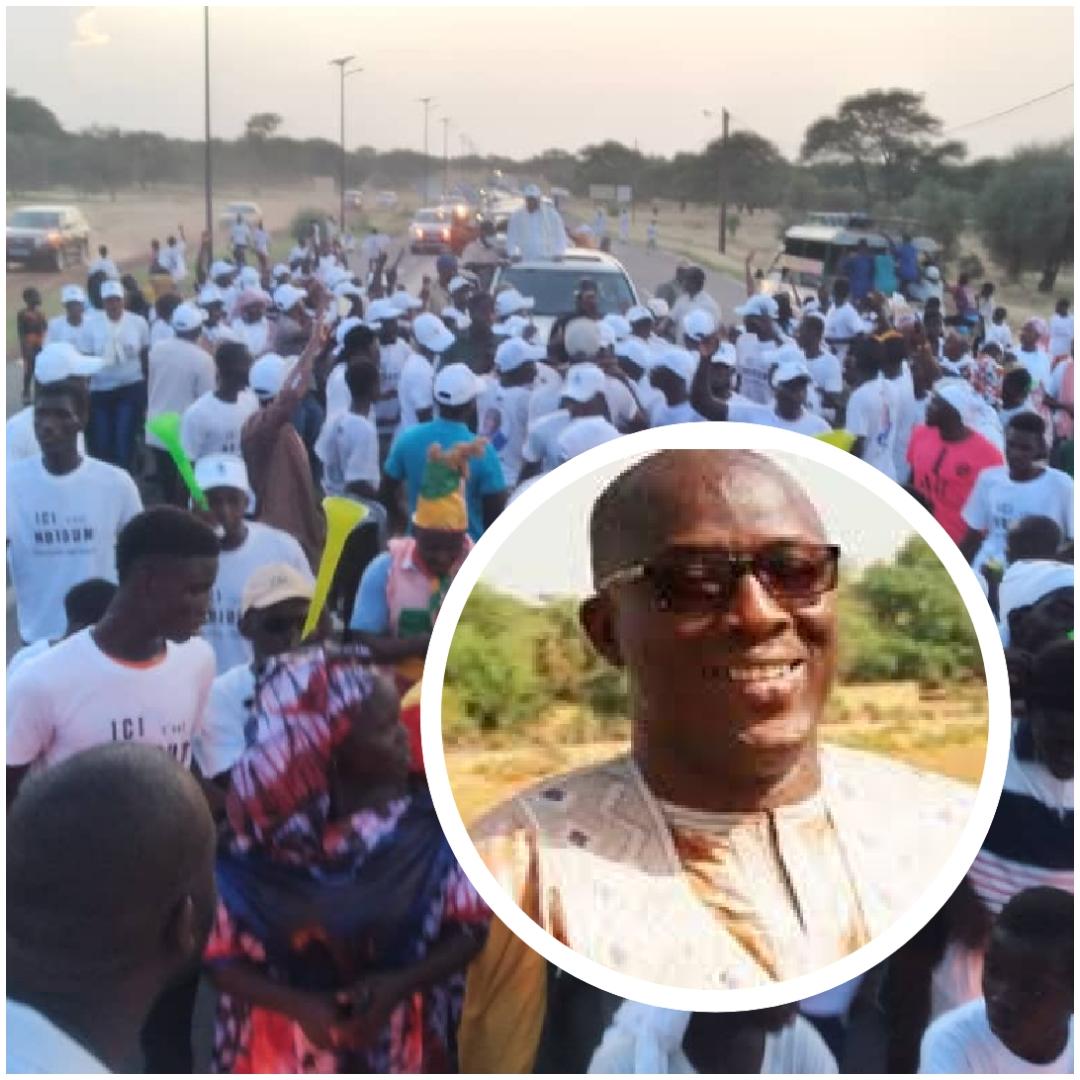 Après un accueil triomphal : Cheikh Oumar Anne investit candidat à la mairie par la jeunesse de Ndioum