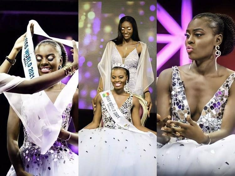 Penda Sy élue Miss Word Sénégal 2021