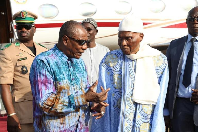 """Wade à Alpha CONDÉ  : """"Je mets à votre disposition la maison que j'occupe actuellement à Dakar"""""""