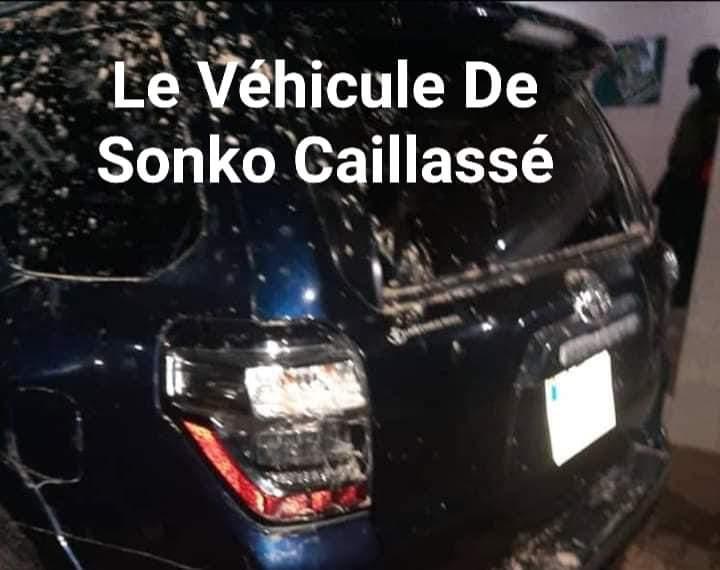 Ziguinchor : Ousmane Sonko et Cie attaqués en pleine réunion: Des blessés graves enregistrés