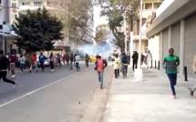 Centre-ville de Dakar : échauffourées entre forces de l'ordre et manifestants