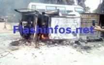 Manifestation : Un véhicule de l'administration incendié à Ziguinchor... une dizaine d'élèves arrêtés