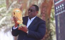 Mondial : Macky Sall déjà en Russie pour supporter les lions et...