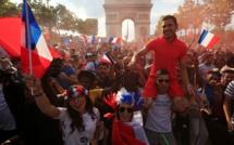 L'accueil triomphal des Bleus à Paris