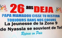 26 ans après son assassinat : Niassya se souvient du député Mamadou Cissé