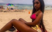 Photos: Lily toute...marronne, fait trembler Miami