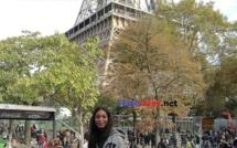 Photos : Yacine Dieng Thiam, Miss Sénégal 2017 en visite Paris