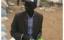 Keur Madiabel : Laye Diatta distribue des masques anti-poussières aux femmes du site de décorticage d'arachides