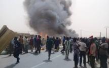 Ross Béthio : Un incendie ravage le marché