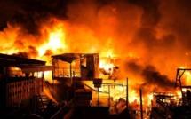 Koungheul : Un incendie fait des dégâts estimés à plus de 100 millions