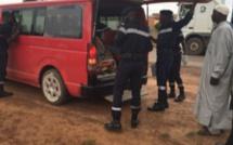 Keur Socé : Un chauffeur de « 7 places » perd le contrôle du volant, tue une dame et blesse une jeune fille
