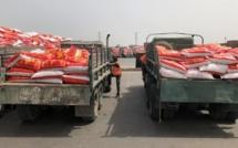 Covid-19 : Du riz de l'aide alimentaire volé, deux suspects arrêtés