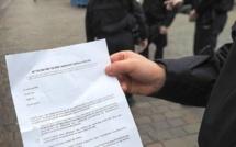 """France : 135 euros d'amende pour avoir précisé qu'il veut """"péter la gueule à un mec"""" sur son attestation"""