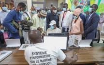 À Kaffrine : Macky Sall inaugure le Pôle Emploi pour les jeunes