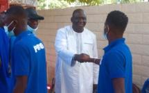 Condoléances : Les joueurs et le staff de Dakar Sacré-cœur chez le président du Casa-Sport