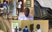Bignona : Mamina Kamara soulage des familles avec l'orage